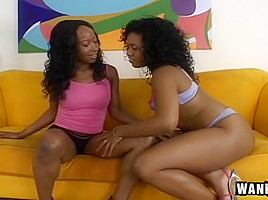 Black Girls Play Hide The Dildo