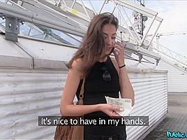 Miky Love in Wannabe Model Cheats on Boyfriend - PublicAgent