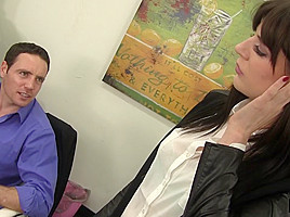 Samantha Bentley & Romeo Price in Hot Babe Samantha Gets Nude For Some Dick At Work - MyMilfBoss
