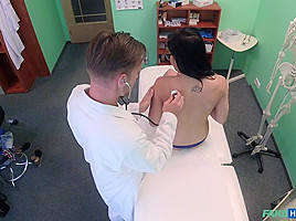 Dolly Matt in Sexy Babe Orgasms on Doctor's Cock - FakeHospital