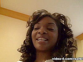 Dee Rida in Volumptous hot busty black gf masturbating  - RealBlackExposed