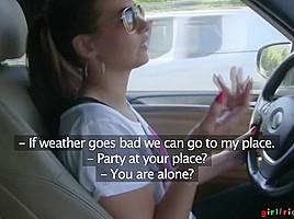 Carrie & Lucy Li & Natalie in Summer Day Trip Part 1 - Girlfriends