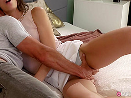 George & Miky Love in Sex lesson by experienced older man - MomXXX