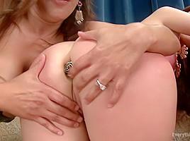 Sloppy Gape Licking