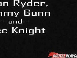 Mia Lelani, Ryan Ryder in Sex Machina: A XXX Parody,  Scene 1 - DigitalPlayground