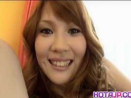 Erika Kurisu sucks cock and has cans touched