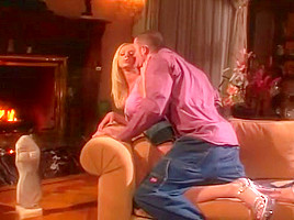 Blond Amateur in High Heels Pounded