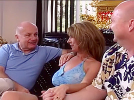 Group Fun With Milf Babysitter And Two Guys