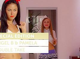Angel B & Pamela in Double Take - PlayboyPlus