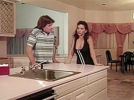 Dave Hardman Lays a Smack down on Tatiana's Wet Hairy Pussy