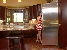 Elexis Monroe Licks Taylor Vixens Cunt In The Kitchen