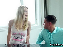 Alli Rae & Brad in Bitch Brut-Fucked By A Stepbro - BrutalX