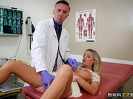 Jessa Rhodes & Keiran Lee in A Dose Of Cock For Co-Ed Blues - Brazzers
