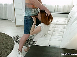Brian & Brenda in Girlfriend Fucked For Spying - BrutalX