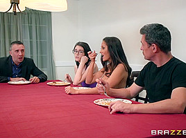 Ava Addams & Keiran Lee in Stay Away From My Daughter: Part 2 - Brazzers