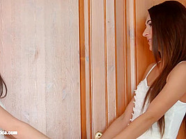 I missed you by Sapphic Erotica   sensual erotic lesbian porn with Alexis Brill and Diana Dolce