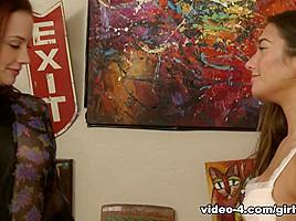 Chanel Preston & Eva Lovia in Cheer Squad Sleepovers #12, Scene #04 - GirlfriendsFilms