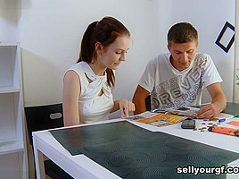 Igor & Timea Bella & Felix in She Wants More Cash And Sex - SellYourGF
