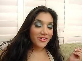 Incredible pornstar Leah Jaye in crazy big tits, facial porn clip