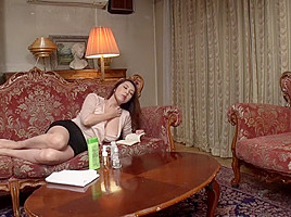 Best Japanese model Hina Akiyoshi, Riko Honda, Yumi Kazama, Reiko Kobayakawa in Horny wife, cunnilingus JAV clip