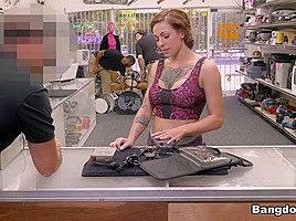 Harlow Harrison in Tattooed Harlow gets needled and inked - BangBros