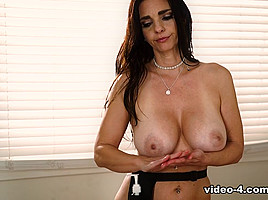 Samantha Hayes & Mindi Mink in My Daughter's Secret Job: Part Two - AllGirlMassage