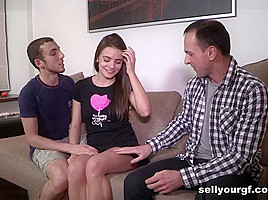 Yan & Bud & Carly in A Sexy Pussy For Rent - SellYourGF