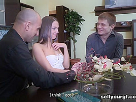 Yan & Foxy Di & Simon in Staying Home For Her First Paid Fuck - SellYourGF