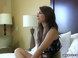 Tony & Ariana Grand in Slurping Fuck And Loud Orgasm - SpyPOV