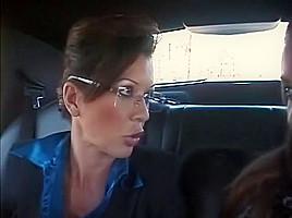 Hottest pornstars Luxxx May and Raquel Devine in incredible brunette, cunnilingus sex movie