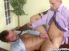 Jessy Ares spreads his legs in office
