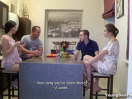 Young Sex Parties - Greta A - Taissia Shanti - Staying together to fuck
