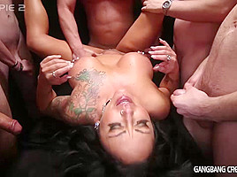 Ashton Blake Movie - GangbangCreampie