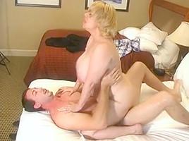 Samantha 38G (Blond BBW) & Jordan Ash (White American)