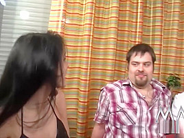 German Meli Deluxe joins her kinky friend for a threesome