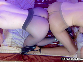 Pantyhose1 Video: Florence A and Ambrose A