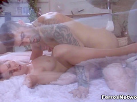 PantyhoseLine Video: Madeleine and Frederic