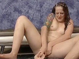 Dark Haired Maci May Gagging On Dick In Rough Threesome