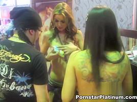 Yuri Luv, Chayse Evans and Jayden Cole Pornstar Party In Mexico