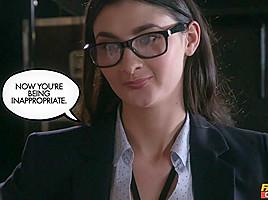 Bambi Joli  Nikita Ricci in Business Bitches Part 2 - FakehubOriginals