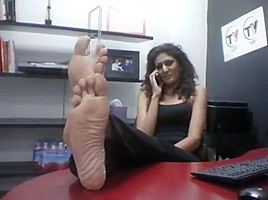 DEADLY PUTRID SIZE 11 SOLES AT THE OFFICE!!!-