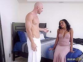 Anya Ivy  Johnny Sins in Maid Of Honor - BrazzersNetwork