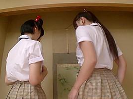 Ai Sayama  Karen Haruki in Teacher Gives College Students After School Lesson - CosplayInJapan