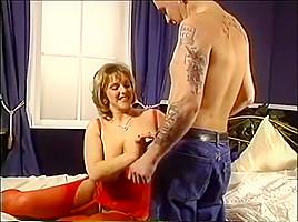 Young Carol Brown Big Tit BBW sucks and fucks