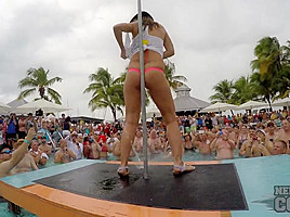 Dantes Wet Tshirt Competition At Fantasy Fest Key West Florida - NebraskaCoeds