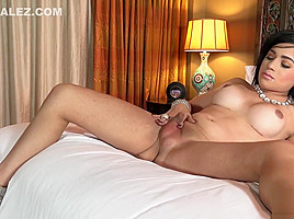 Madison Montag Showing Us Her horny rod