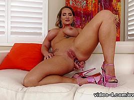 Abella's Big-Cock Pussy & Anal Fuck - EvilAngel
