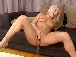 Young czech pissing-