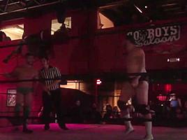 Hot Wrestling Men: Chayn vs Gibbes
