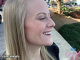 Paris White in Virtual Vacation Movie - ATKGirlfriends-
